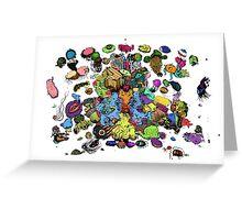 Dreamscape Colour Greeting Card