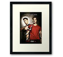 Sam and Dean s6 Framed Print