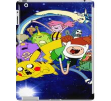 adventure time pokemon iPad Case/Skin