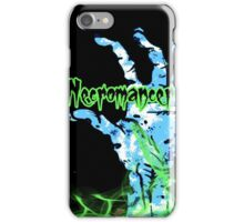 Necromancer at Work iPhone Case/Skin