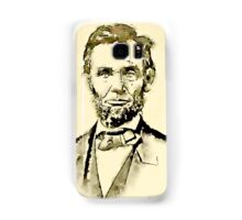 President of the United States of America Abraham Lincoln Samsung Galaxy Case/Skin