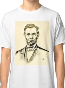 President of the United States of America Abraham Lincoln Classic T-Shirt