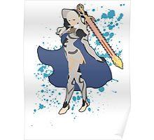 Corrin (Female) - Super Smash Bros Poster