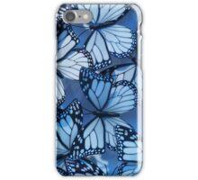 Blue Butterflies iPhone Case/Skin