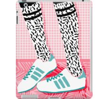 Aiight - tennis shoes athlete fashion shoe sports game palm springs socal country club retro throwback 1980s  iPad Case/Skin