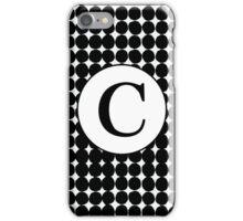 C Bubble iPhone Case/Skin