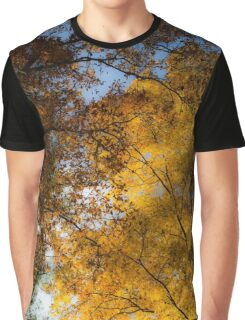 Golden Trees Graphic T-Shirt