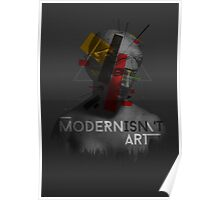 Modernisn't Art Poster