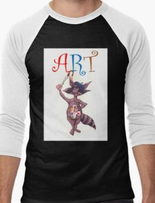 Artistic Raccoon T-Shirt