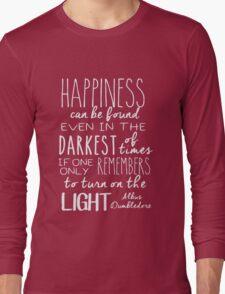 Turn On The Light #White Version Long Sleeve T-Shirt
