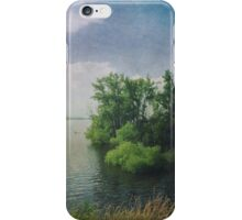 She Sat in the Sunshine and Watched the Clouds iPhone Case/Skin