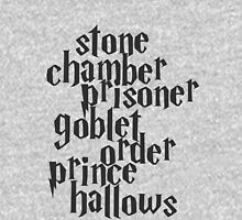 Stone Chamber Prisoner Goblet Order Prince Hallows Unisex T-Shirt