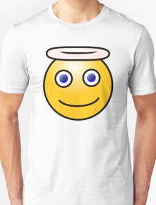 Smiley Halo Blue Eyes T-Shirt