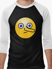 Smiley Long Nose Blue Eyes T-Shirt
