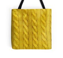 Yellow Cables Tote Bag