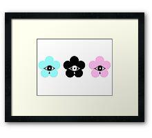 Pastel nectear  Framed Print