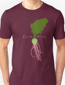Earth Alien Watermelon Radish T-Shirt
