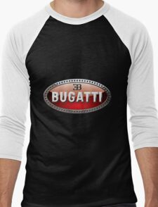 Bugatti 3D Badge 2.0 on Blue T-Shirt