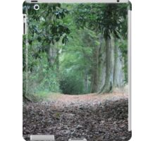Deep in the woods iPad Case/Skin