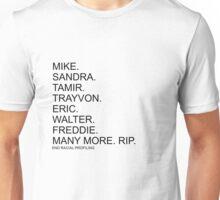End Racial Profiling Unisex T-Shirt