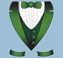 leprechaun suit st patricks day green Irish tuxedo One Piece - Short Sleeve