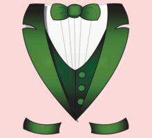leprechaun suit st patricks day green Irish tuxedo Kids Clothes