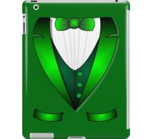 leprechaun suit st patricks day green Irish tuxedo iPad Case/Skin