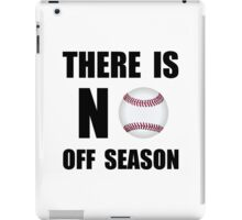 No Off Season Baseball iPad Case/Skin