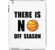 No Off Season Basketball iPad Case/Skin