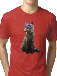 Fox goddess of nature Tri-blend T-Shirt