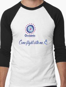 lost-oceanic airlines Men's Baseball ¾ T-Shirt