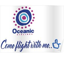 lost-oceanic airlines Poster