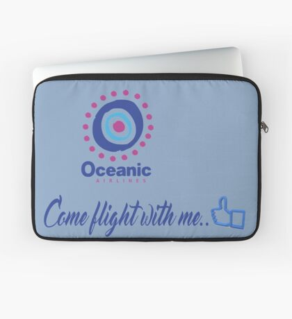 lost-oceanic airlines Laptop Sleeve