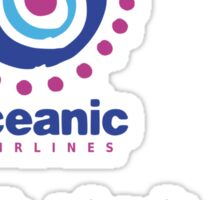 lost-oceanic airlines Sticker