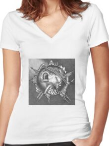 The Earth Women's Fitted V-Neck T-Shirt