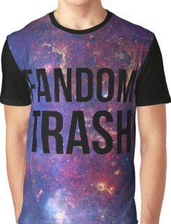Fandom Trash Graphic T-Shirt
