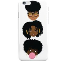 3 Wise Naturalistas iPhone Case/Skin