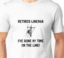 Retired Lineman Unisex T-Shirt