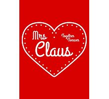 Mrs Claus Photographic Print