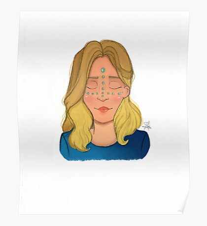 Blondie Girl Poster