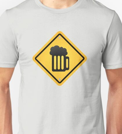 beer sign Unisex T-Shirt