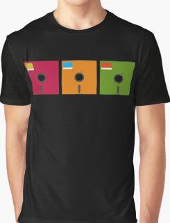 floppy color Graphic T-Shirt