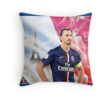 Zlatan Ibrahimovic Throw Pillow