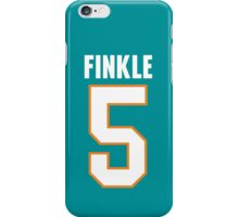 Ray Finkle Jersey – Laces Out, Ace Ventura, Dolphins iPhone Case/Skin