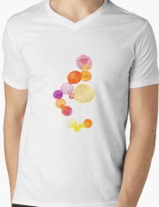 Watercolor magical circles Mens V-Neck T-Shirt