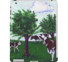 Grazing Wisconsin Cows iPad Case/Skin