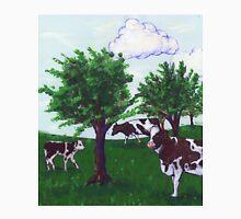 Grazing Wisconsin Cows Unisex T-Shirt