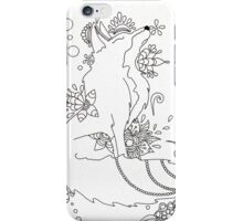sly fox iPhone Case/Skin