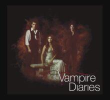TVD - Damon, Stefan, Elena Baby Tee