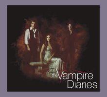 TVD - Damon, Stefan, Elena Kids Tee